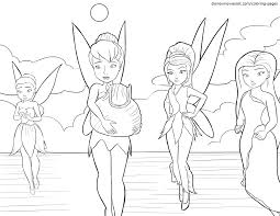 articles with printable coloring pages of tinkerbell and her fairy
