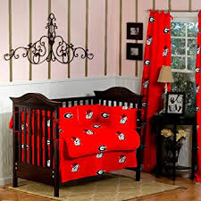 Nursery Bedding And Curtains Bulldogs Baby Crib Bedding With Curtains 9