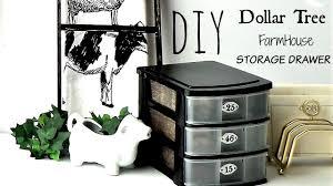 diy dollar tree farmhouse storage drawer