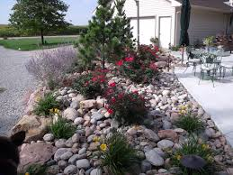 Decorative Landscaping Decorative Landscaping With Rocks For A Natural House Traba Homes