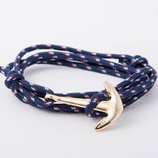 anchor bracelet women images High fashion alloy anchor bracelet with multi layer leather risers jpg