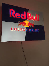 red bull light up sign f s t clean planet eclipse etha