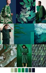 green oasis f w 2017 trend in fashion color palette for more