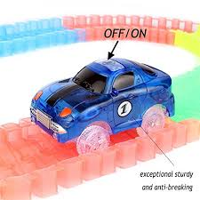 light up car track as seen on tv light up magic race cars tracks set as seen on tv buy online in