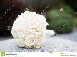 White Rose Bouquet White Rose Wedding Bouquet Royalty Free Stock Image Image 30970786