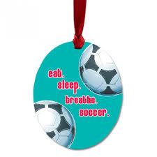 soccer ornaments