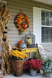 fall decorations fall decorations 37 fall porch decorating ideas ways to decorate