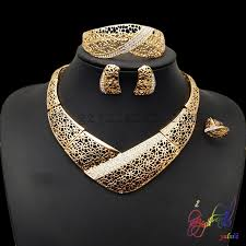 south jewellery designers south africa gold jewelry set sculptural party jewelry set