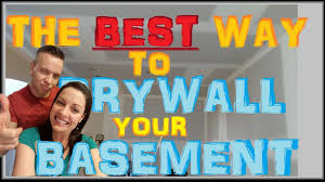 how to hang drywall on basement ceilings best sheetrock