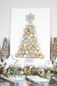 diy ornament tree