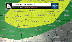 Severe Weather Map Severe Weather Iowa Storm Chasing Network