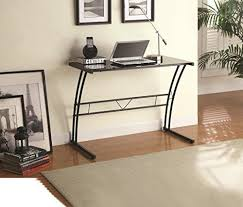 Small Glass Top Computer Desk Best 25 Black Glass Computer Desk Ideas On Pinterest Pc Setup