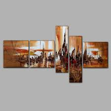 Livingroom Paintings by Aliexpress Com Buy Living Room Wall Art Decoration Group Oil
