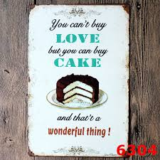Love Home Decor Sign by Online Buy Wholesale Love Cake Poster From China Love Cake Poster