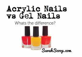acrylic vs gel nails sarah scoop