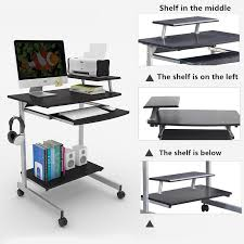 Space Saving Laptop Desk Modern Computer Desk Home Mobile Laptop Desk Space Saving Simple