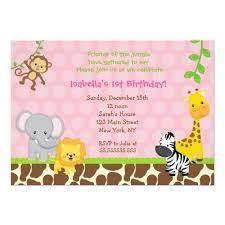 120 best safari birthday invitations images on pinterest