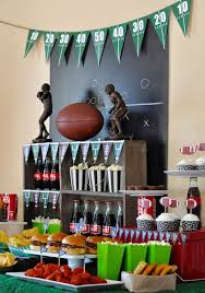 football party decorations best 25 football party favors ideas on sports theme