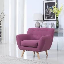 amazon com mid century modern living room accent armchair