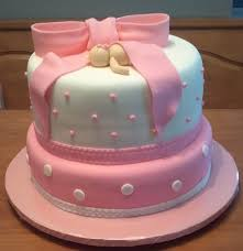 42 best cakes images on pinterest baby shower cakes pink baby