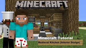 minecraft interior design kitchen minecraft tutorial medieval kitchen interior design youtube