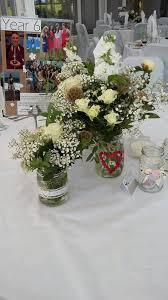 wedding flowers jam jars jam jars of flowers wedding flowers by