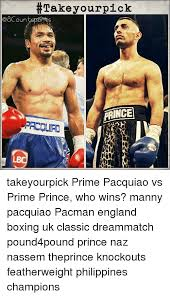 Pacquiao Knockout Memes - take your pick prince takeyourpick prime pacquiao vs prime prince