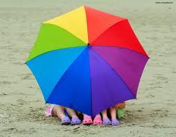 Lightweight Beach Parasol Children With Colorful Umbrella 449 Jpg 1024 801 Colors