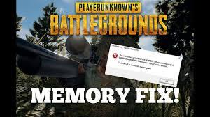 pubg 0x00007 how to fix memory error in pubg youtube