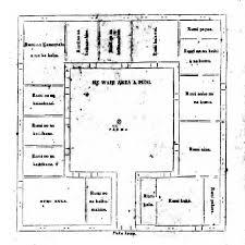 house plan rectangle with courtyard floor plan chief u0027s children u0027s hawaiian time machine