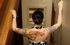 Buddhist Flower Tattoo - buddha back tattoo art and designs