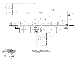 hvac floor plan campus maps