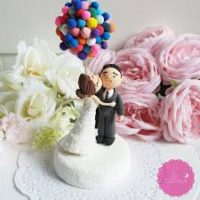 up cake topper up themed cake topper 9 adorable custom made cake toppers via