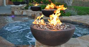 Firepit Bowls Pit Glass Bowls