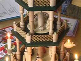 german candle carousel