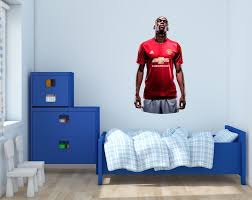 manchester united sticker ebay paul pogba manchester united dab wall decal vinyl sticker for room home bedroom