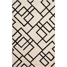 Black And White Zig Zag Rug Chevron House To Home Blog