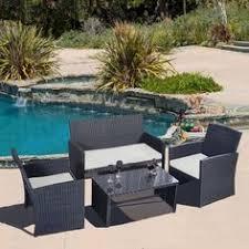 Patio Furniture Woodland Hills Mainstays Woodland Hills 4 Piece Chat Set Woodland Hills