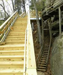 Nc State Parks Map by Chimney Rock State Park Completes Renovation On Stairway To The