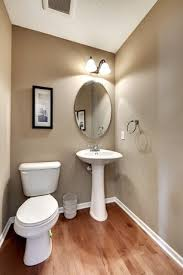 Powder Room With Pedestal Sink Traditional Powder Room With Powder Room Ceramic Pedestal Sink