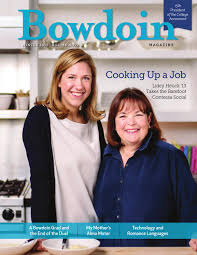 Ina Garten Wedding by Bowdoin Magazine Vol 86 No 2 Winter 2015 By Bowdoin Magazine