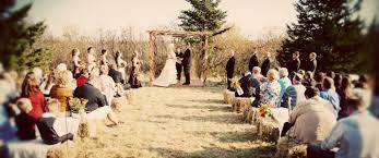 minnesota diy farm wedding rustic wedding chic hay bale seating