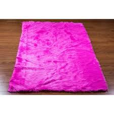 Faux Fur Area Rugs 10 U0027 X 10 U0027 New Premium Fuschia Shag Faux Fur Area Rug Room Decor