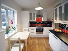 Best Small Kitchens Images On Pinterest Pictures Of Kitchens - Small kitchen white cabinets