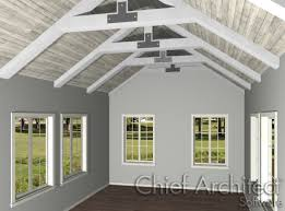 home designer pro gable roof creating exposed trusses in home designer pro
