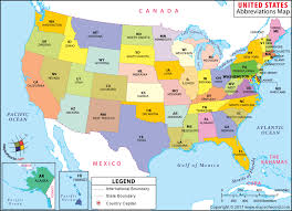 united states map with states names and capitals map of us states and oceans state name capital for kid map of the