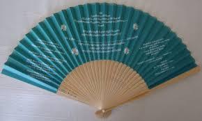 Paper Fan Wedding Programs Wedding Invitation Wedding Program Fans Fantastica Uk Supplier