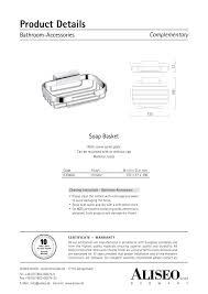 bathroom accessories aliseo pdf catalogues documentation