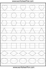 coloring pages preschool shapes worksheet free printable