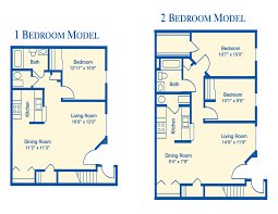 good apartment floor plans 1 bedroom with den on a 1603x2124